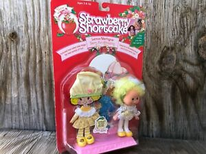 NIP! Strawberry Shortcake Lemon Meringue Doll With Extra Outfit Collectible 1991
