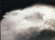 (13994) Postcard Waves Waimea Bay Hawaii USA