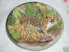 """The Jaguar"" Fierce And Free : The Big Cats Plate"