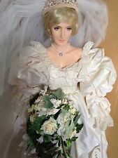 Princess Diana Bride  # 3/10   Paul Crees Figure Artist Doll  MEMORIAL EDITION