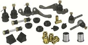 """Polygraphite Front End Kit 1976-89 Mopar (9/16"""" outer tie rods; w/steel sleeves)"""