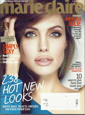 Angelina Jolie Marie Claire Magazine Jan 2012 Anya Ayoung-Chee Zana Marjanovic