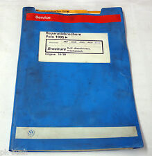 Reparatiebrochure VW Polo 6N 4-cil. Diesel Engine Mechanical From 1995