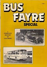 """Magazine ~ """"Bus Fayre"""" Special: 1980 - A Complete History of Coaching"""