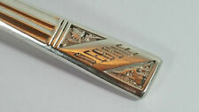 "QUALITY GIFT VINERS HM STERLING SILVER NAME TEASPOON ""DEBBIE"" 1959 22 GRAMS"