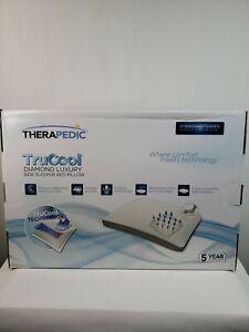 Therapedic Trucool Diamond Luxury Side Sleeper Pillow - Queen