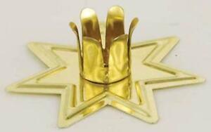 "Gold Tone ""Fairy Star"" Chime (Mini) Candle Holder!"