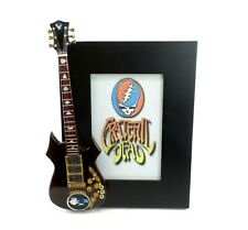 Miniature Guitar Picture Frame Jerry Garcia Grateful Dead Collectible