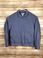 Duluth Trading Company Men's Blue Grey Full Zip Work Coat Size XL