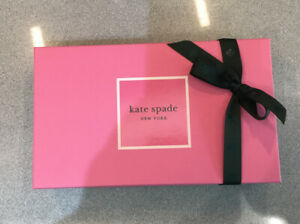 KATE SPADE gift Box....   Pink/green. Brand New With Care Card And Tissue