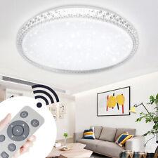 24W-48W LED Dimmbar Kristall Deckenleuchte Runde Flurleuchte Dekor Lampe