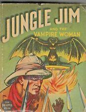 Jungle Jim And The Vampire Woman 1937 432p Raymond-a. vf Big Little Book #1139