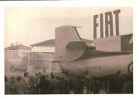 FOTO EXPO AEROPLANI FIAT G.80 AVIAZIONE MILITARE ITALIANA AERONAUTICA 1960ca -