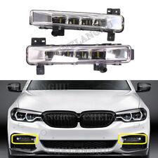 2x For BMW 5 Series G30 G31 G38 520i 530i 540i LED DRL Fog Daytime Running Light