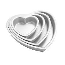 Heart Aluminum Cake Fondant Decorating Muffin Mold Baking Tool