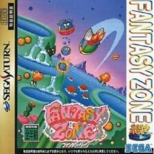 Sega Saturn Fantasy Zone Japan SS