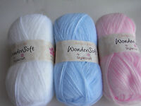 3 x 100g Stylecraft Wondersoft 3ply Wool/Yarn for Knitting/Crochet