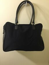 CALVIN KLEIN Black Weekender Over-Night Travel Carry-On Shoulder Bag Tote