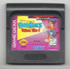 Video Game Only - BONKERS WAX UP - Sega Game Gear