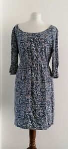 Fat Face Floral Dress Uk18 With Pockets