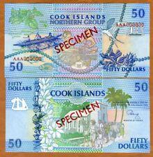 SPECIMEN, Cook Islands, $50, ND (1992), P-10 (10s) UNC > Scarce
