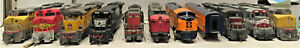BACHMANN, WALTHERS & OTHERS DIESEL LOCOMOTIVES (PARTS ONLY) HO SCALE 11 LOT