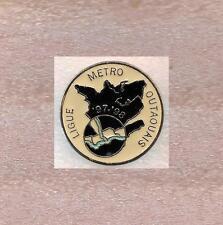 1997-98 League of Metro Outaouais Hockey Quebec Canada Official Pin Old