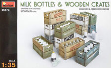 Miniart 35573 1:35th scale Milk Bottles & Wooden Crates