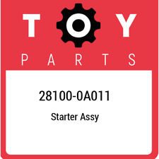 28100-0A011 Toyota Starter assy 281000A011, New Genuine OEM Part