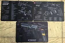 Armurier TekMat Collection Set de 3 pour Glock 17 GEN4 Auto Chargement Pistol Series