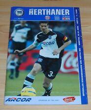 Programm Hertha BSC Berlin - FC Bayern München 30.01.2005 - 1.Liga 2004/2005