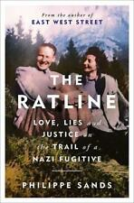 Signed Book - The Ratline: Love, Lies and Justice by Philippe Sands QC 1st Print