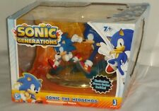 SONIC HEDGEHOG misb Generations COMMEMORATIVE STATUE Sega Retro & Modern figure