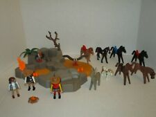 PLAYMOBIL Western Lot w/Horses Vultures Scenery and More