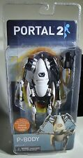 NEW NECA Portal 2 - 7″ P-Body Deluxe Action Figure with LED Lights Robot 2014