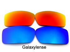 Galaxy Replacement Lenses For Oakley Gascan Sunglasses Blue&Red Polarized 2Pairs