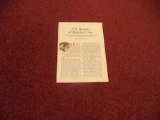 RUBIK'S CUBE      VINTAGE MAGAZINE ARTICLE