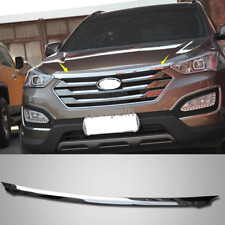 For 2013~2016 Hyundai Santa Fe Sport Stainless Hood Bonnet Guard Cover Molding