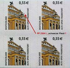 MH-Nr. 50 PF I - MiKat.-Wert 50 € (MiNr. 2303 BC/BD u. 2304 BC/BD),