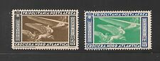 Tripolitania #C27-C28 EF MNH - 1933 19.75 L to 44.75 L North Atlantic Flight