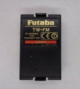 FUTABA TW-FM 35MHZ TRANSMITTER MODULE  ON 35MHZ  FF8,FF9 ETC EX CONDITION