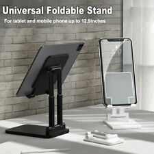 Foldable Tablet Mobile Phone Holder Desk Stand For iPad Pro 11 iPhone 12 Samsung