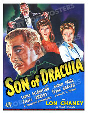 SON OF DRACULA LOBBY CARD POSTER OS/BEL 1943 LOUISE ALLBRITTON LON CHANEY