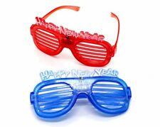 """12pcs """"Happy New Years"""" Shutter Led Glasses New Year's Eve"""
