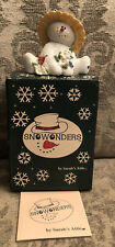 1998 Sarah'S Attic Snowonders #6404 May Blossom Numbered Figurine Pc9E-1416