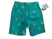 Loudmouth Mens Golf Shorts Sz 32 Embroidered Guitar Club Phil Dalhausser NEW