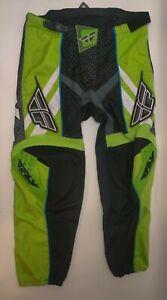 Fly Racing Men's F-16 Motocross Pants Dirt Bike Off-Road MX/ATV 40 Black Green