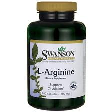 Swanson L-Arginine 500 mg 200 Caps