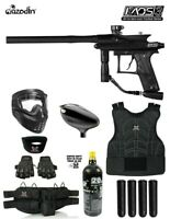 Maddog Azodin KAOS 2 Beginner Protective CO2 Paintball Gun Package - Orange/Blac