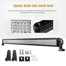 Quad-Row 52inch 300W Straight LED Light Bar fit for Jeep Driving Lamp 54